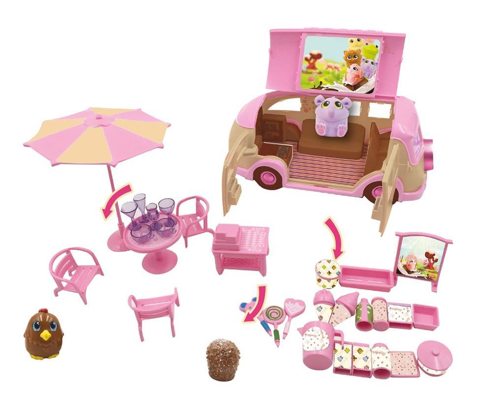 Auto Caravana Choco Van con accesorios