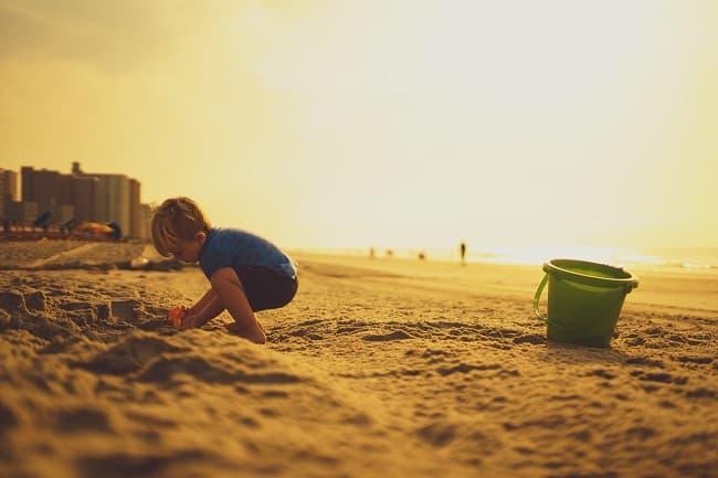 Ideas para jugar en la playa