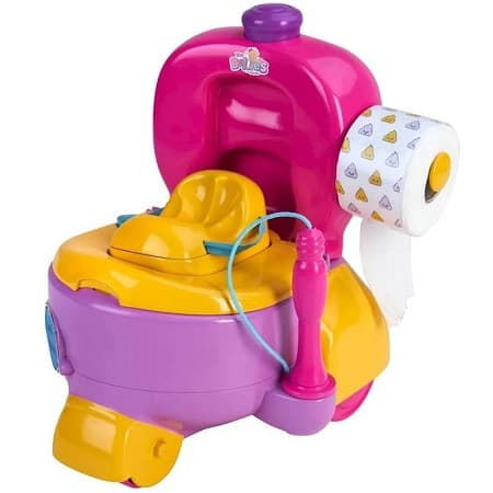 Orinal Bellies Potty Car