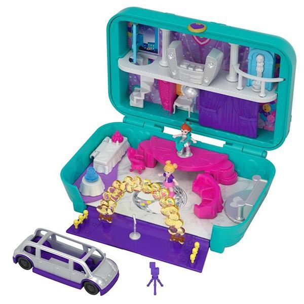 Imagen de Maletín Fiesta Divertida Polly Pocket Mattel