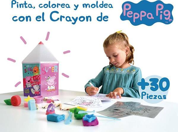Imagen de Crayón de Actividades Peppa Pig para pintar y dibujar Cife