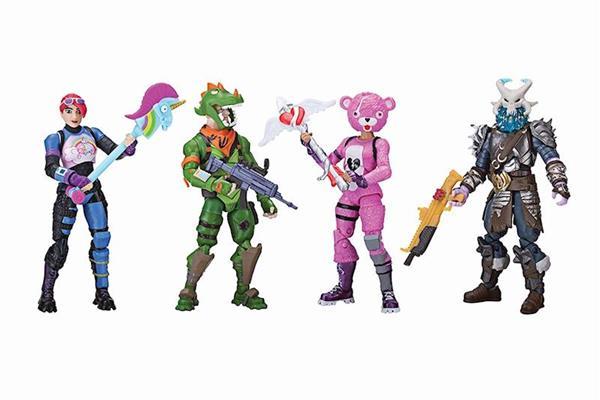 Imagen de Figura Fortnite Pack 4 Unidades Toy Partner