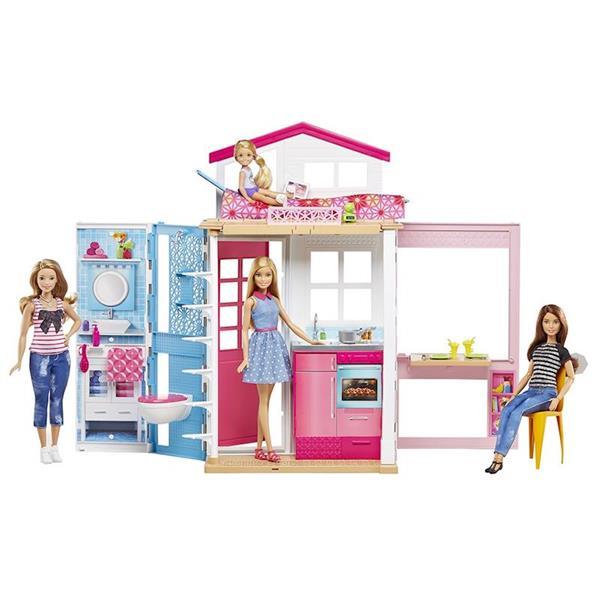 Imagen de Barbie y su casa Mattel