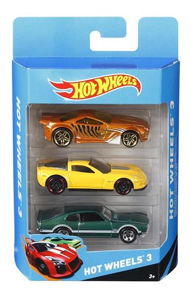 Imagen de Coches Hot Wheels Pack de 3 Mattel