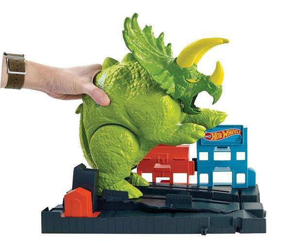 Imagen de Pista Hot Wheels Ataque Triceraptops Mattel