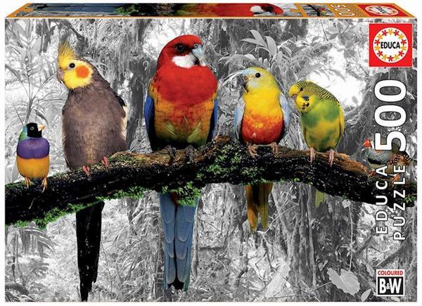 Imagen de Puzzle 500 Pájaros En La Jungla Educa