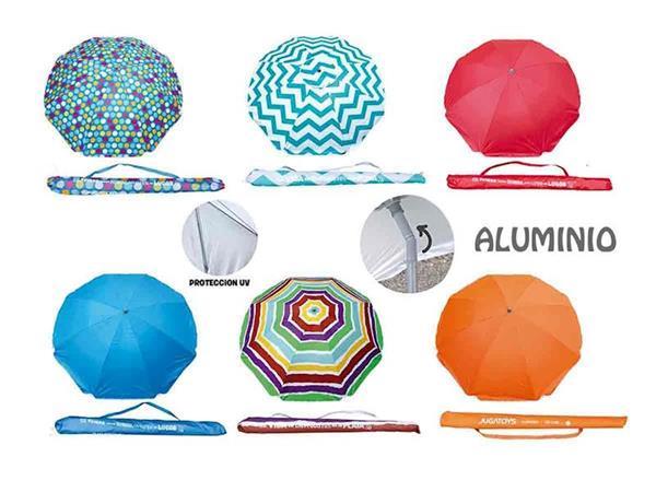 Imagen de Parasol Aluminio 200 Cm Varios Modelos Creaciones Llopis