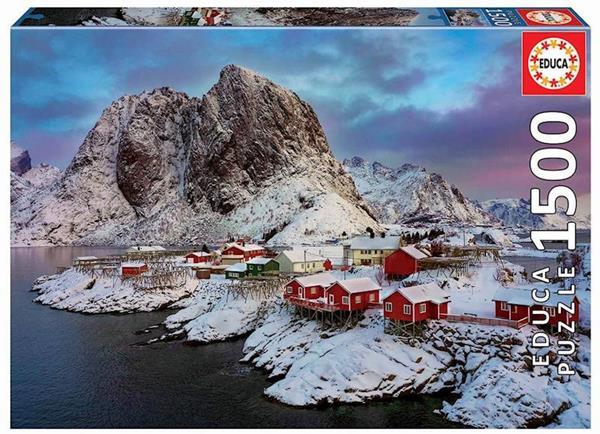 Imagen de Puzzle 1500 Islas Lofoten, Noruega Educa