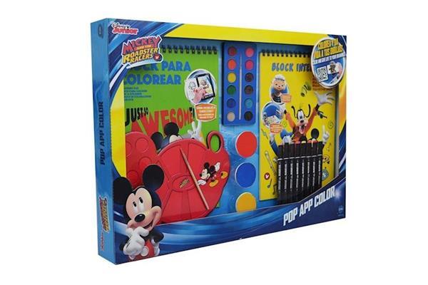 Imagen de Set Multiactividades Pop App Color Disney Mickey Cife