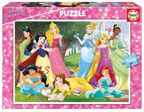 Imagen de Puzzle de 500 piezas Princesas disney de Educa