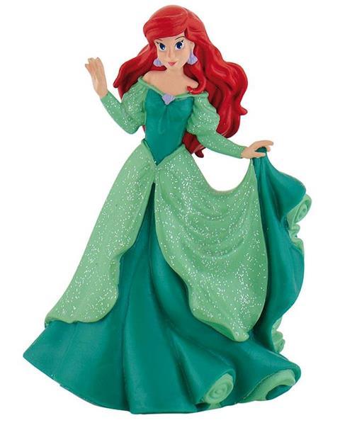 Figura Princesas Disney Ariel Vestido Verde Comansi