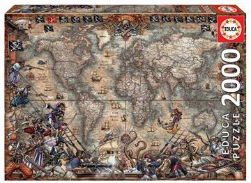 Puzzle Mapa Piratas