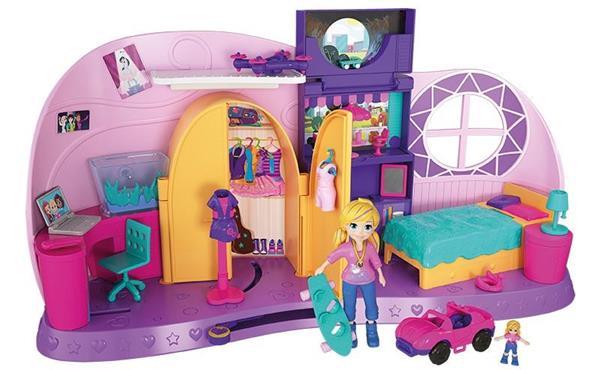 Imagen de Habitación Polly Pocket Transformación Mattel