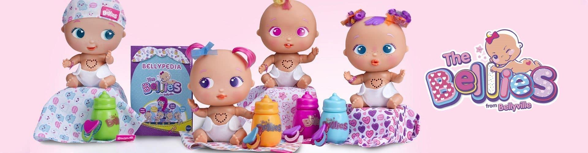 Compra tu muñeco interactivo The Bellies