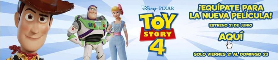 ¡Toy Story 4 ya está aquí!