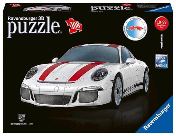 Imagen de Puzzle 3D Porsche 911R Ravensburger