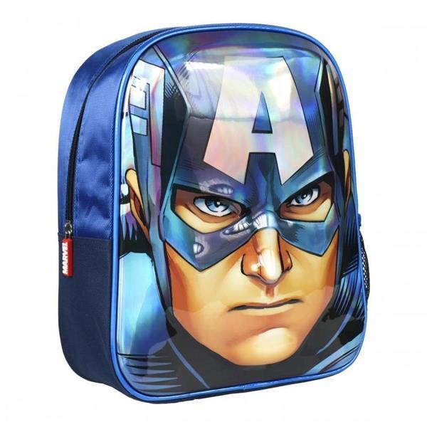Imagen de Mochila Infantil 3D Los Vengadores Capitán América Cerdá