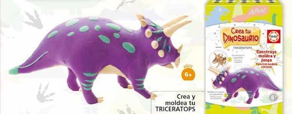 Imagen de Juego Crea Y Moldea Tu Dinosaurio Triceratops Educa