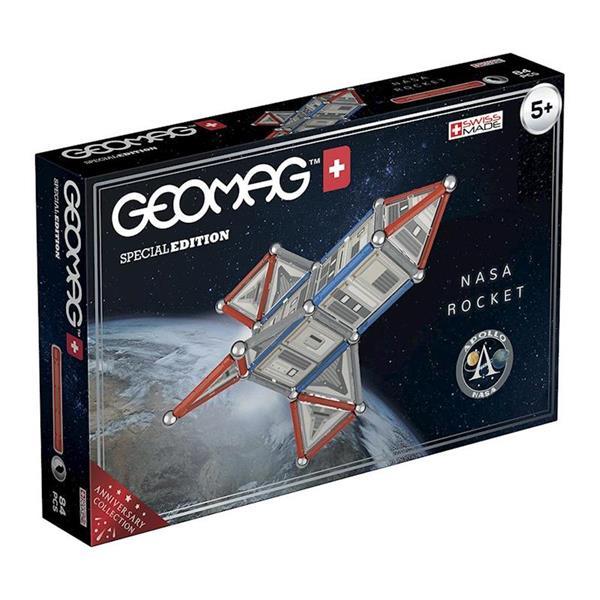 Imagen de Geomag Nasa Rocket 84 Piezas Toy Partner