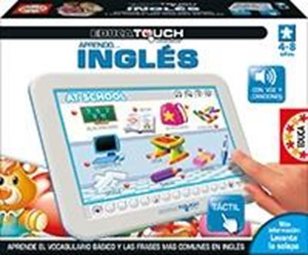 Imagen de Educa Touch Junior Aprendo Inglés Táctil Educa