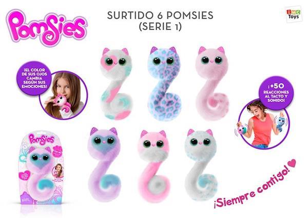 Imagen de Pomsies Tu Mascota Interactiva Pompon IMC Toys