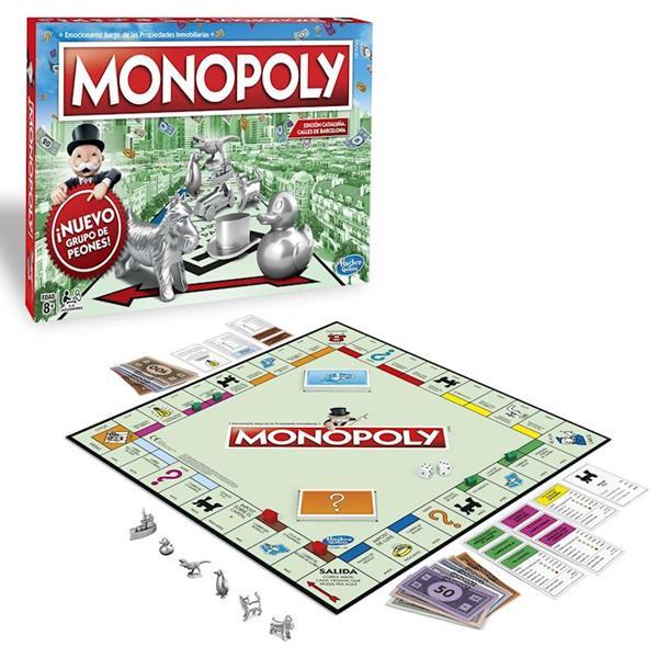 Imagen de Juego de mesa Monopoly Barcelona Hasbro