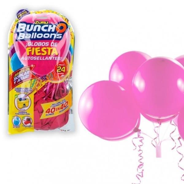 Imagen de Globos Para Fiestas Bunch O Balloons Pack 24 Color Baby