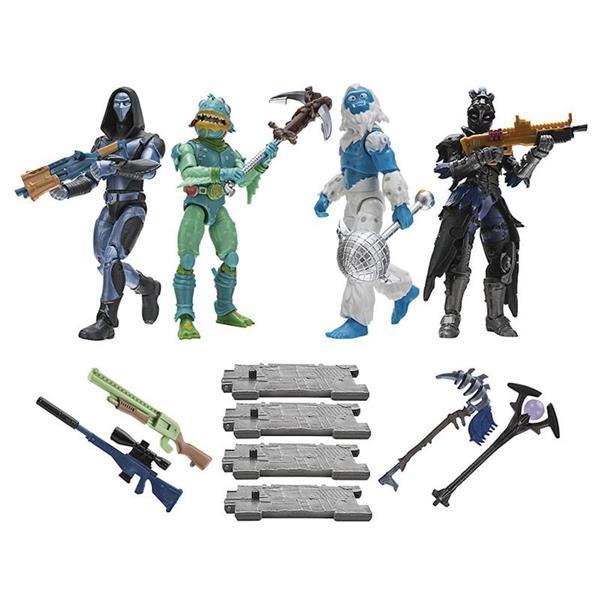 Imagen de Pack 4 Figuas Fortnite Squad Mode Core Toy Partner