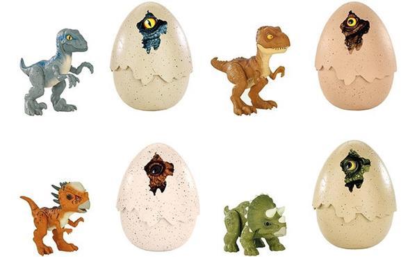 Jurassic World Huevos Sorpresa Mattel Dónde encontrar a los dinosaurios, cómo criarlos, como evitar que se maten entre ellos, qué hacer en caso de que escapen. jurassic world huevos sorpresa mattel