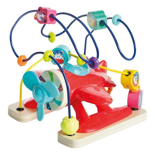 Imagen de Juguete de Madera Avión de Actividades Color Baby