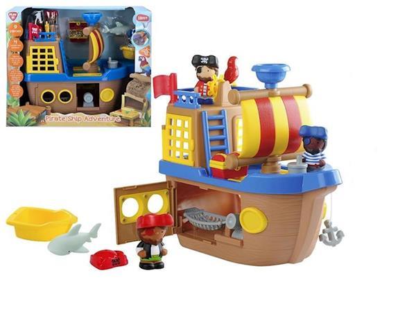 Imagen de PlayGo Barco Pirata de Actividades Color Baby