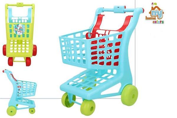 Imagen de Carro Supermercado de Juguete 3 Colores