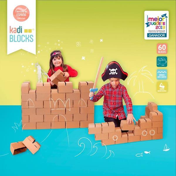 Imagen de KadiBlock - Bloques de Construcción 60 piezas