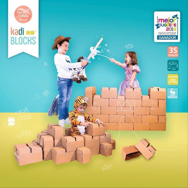 Imagen de KadiBlock - Mega Bloques de Construcción 35 piezas