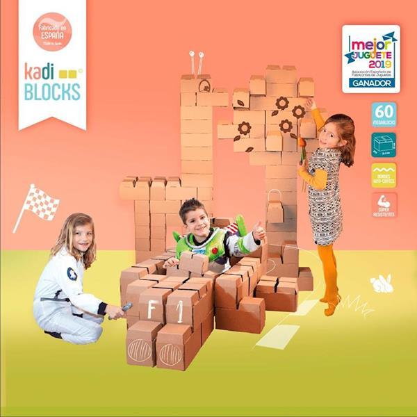 Imagen de KadiBlock - Mega Bloques de Construcción 60 piezas