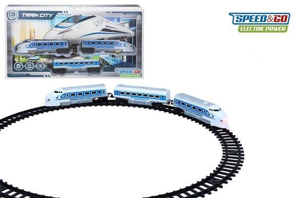Imagen de Tren Alta Velocidad Eléctrico Color Baby