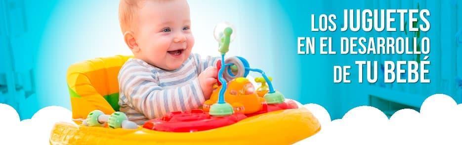 Los juguetes en el desarrollo de tu bebé