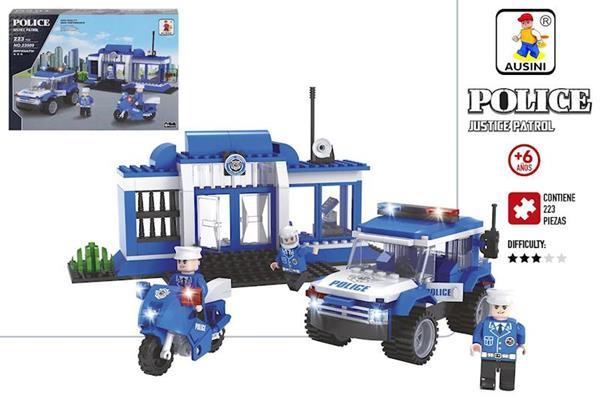 Imagen de Juego Construcción Comisaría Policía Color Baby