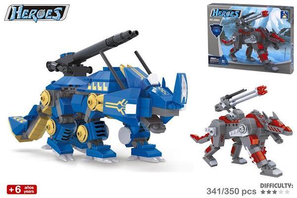 Imagen de Juego Construcción Robot Héroes Color Baby