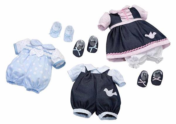 Imagen de Vestido Muñeca 40 Cm Rosa Toys