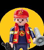 Imagen para la categoría Playmobil City Action - Bomberos y Policias