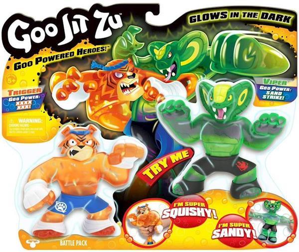 Imagen de Héroes Goo Jit Zu Pack De 2 Bandai