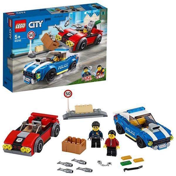 Imagen de Lego City Policía Arresto en la Autopista
