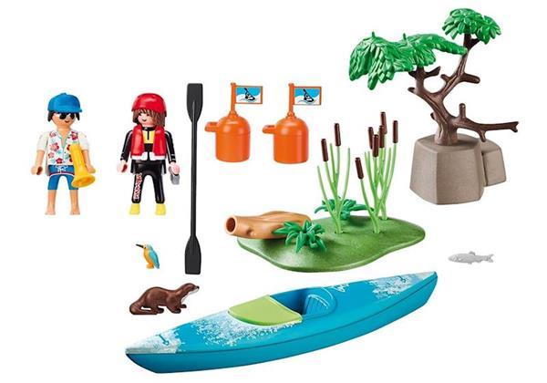 Imagen de Playmobil Family Fun Aventura en Canoa