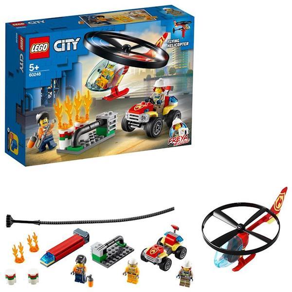 Imagen de Lego City Intervención del Helicóptero de Bomberos