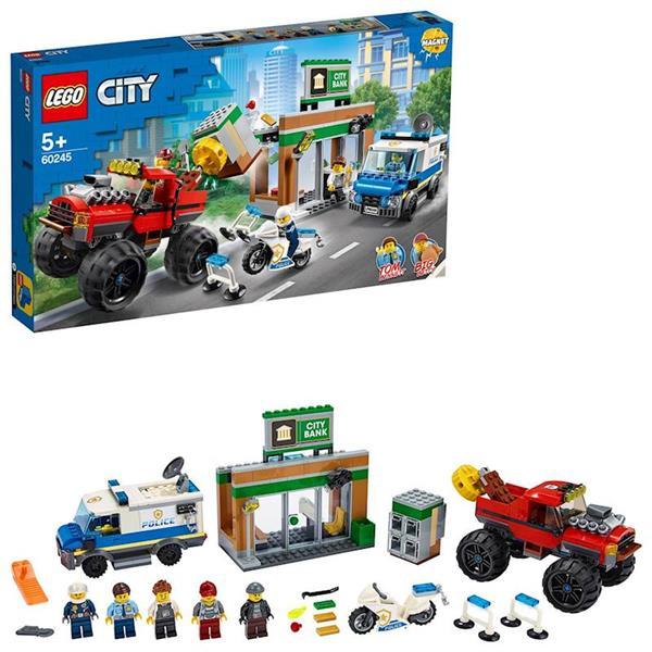 Imagen de Policía Atraco del Monster Truck Lego City