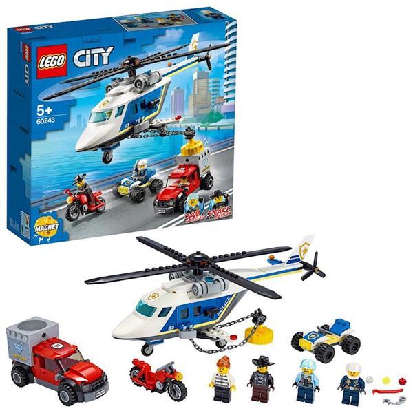 Imagen de  Persecución en Helicóptero Lego City Policia