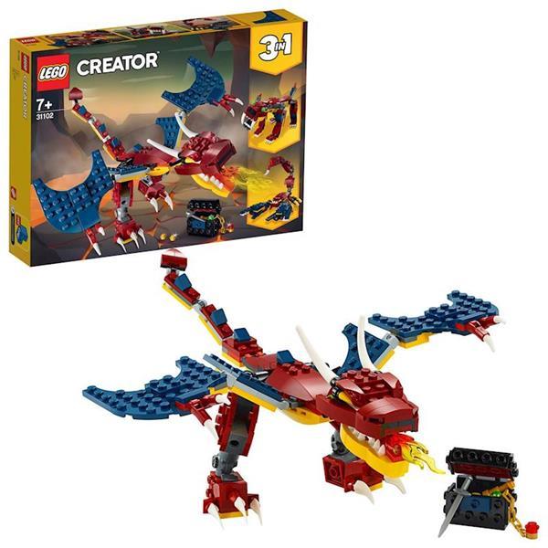 Imagen de Dragón Llameante Lego Creator