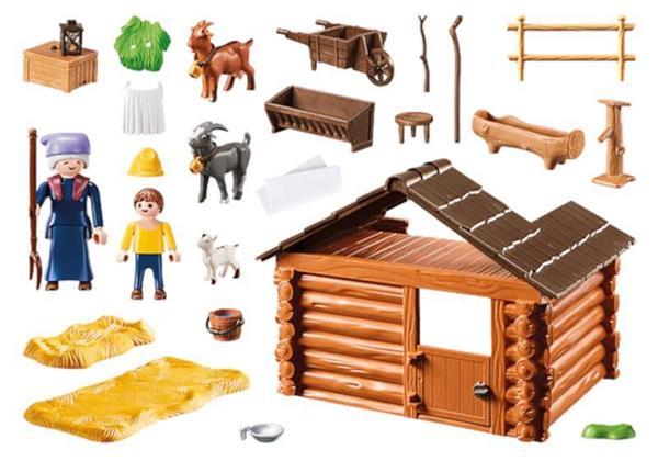 Imagen de Playmobil Heidi Establo De Cabras De Pedro