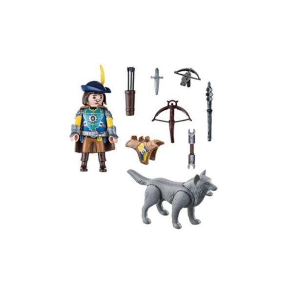 Imagen de Playmobil Novelmore Ballestero con Lobo